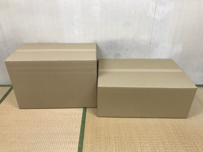 160サイズのダンボール箱|段ボール箱は大阪のマツヤ商会にお任せください