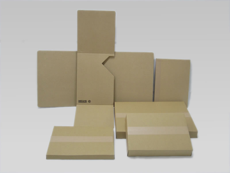 薄い(浅い)箱 ダンボールの規格品