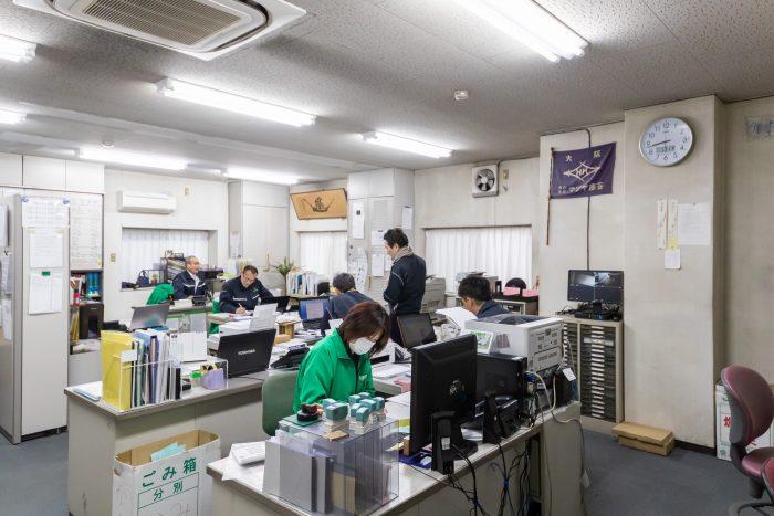 マツヤ商会事務所